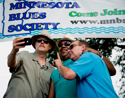 Dan Schwalbe, Jimi Smith and Curtis Blake @ 2014 MnBS Annual Picnic