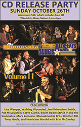 Blues Allstar CD 2 Poster