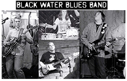 Black Water Blues Band Poster