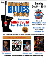Mn Blues Hall of Fame Poster