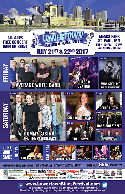 Lowertown Blues & Funk Fest 2017