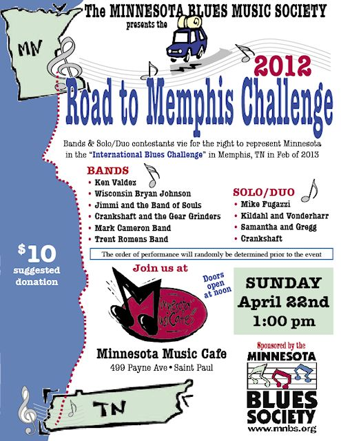 2012 Road To Memphis Poster
