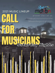 Art in Motion Call for Musicians