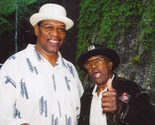 Big George Jackson with Bo Diddley
