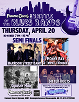 Battle of the Blues Bands Semi Finals Poster