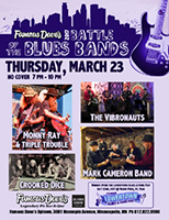 Battle of the Blues Bands March 23
