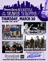 Battle of the Blues Bands 03/30/17