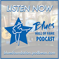 Blues Foundation Podcast Logo