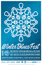 CIBS Winter Blues Fest Poster 2015