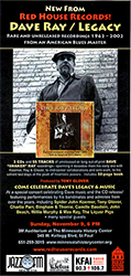 Dave Ray Legacy CD Release