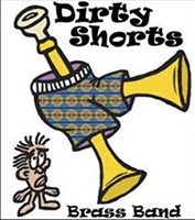 Dirty Shorts Brass Band Logo