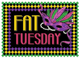 Fat Tuesday Graphic