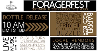 ForagerFest2021 poster