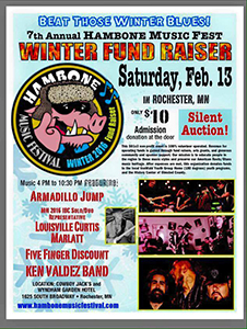 Hambone Music Fest Winter Fund Raiser