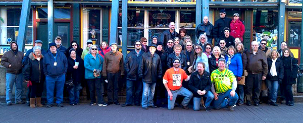 Group Shot on Beale St 2014