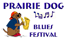 Prairie Dog Blues Festival Logo