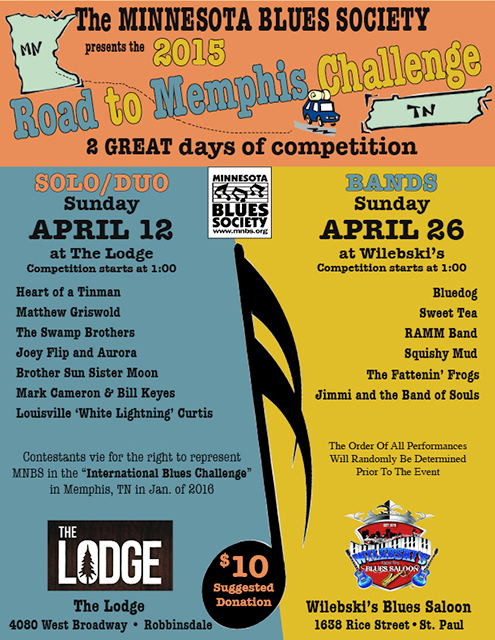 2015 Road To Memphis Challenge Poster