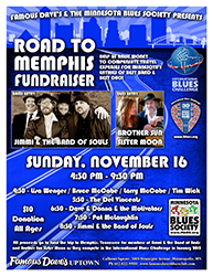 Road To Memphis Fund Raiser @ Famous Dave's