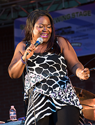 Shemekia Copeland at Lowertown Blues Festival