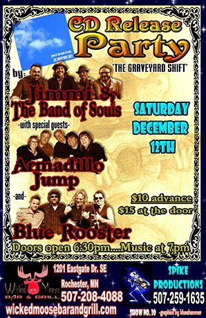 Jimmi & the Band of Souls, Armadillo Jump, Blue Rooster