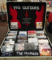 Vig Guitars Supports Local Musicians